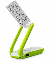 Настольная лампа-фонарь Tiross TS-52 трансформер зеленый