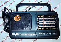 Радио всеволновое портативное Радиоприемник KIPO KB-409AC, фото 1