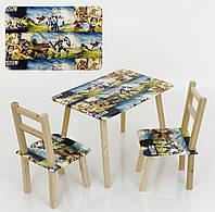 """Столик и два стульчика """"Нексо найтс"""""""