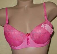 Бюстгальтер  В80 розовый м 110
