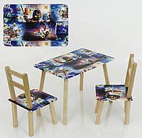 "Столик и два стульчика ""Ниндзяго"""