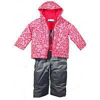 Комплект для девочек Columbia FROSTY SLOPE™ SET серо-розовый SC1092 637