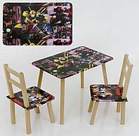 """Столик и два стульчика """"Трасформер"""""""