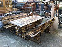 Садовый деревянный комплект Стрип 2,0м