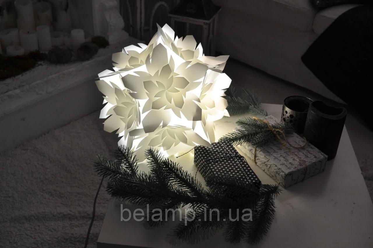 "Лампа-уютница (ночник) ""Снежинка"""