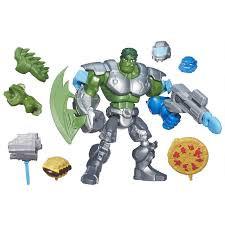 """Халк HASBRO MARVEL SUPER HERO MASHERS ACTION FIGURE - SMASH FIST HULK B0678 - Интернет-магазин """" ToysStore"""" только брендовые игрушки в Львовской области"""