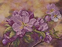 """Схема для вышивания бисером """"Яблони в цвету"""""""
