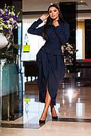 Женское платье-рубашка трансформер КВ 356-NW