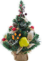 """Елка искусственная Новогодько, """"Зимний лес"""" с украшением 0,45 м."""
