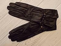 Перчатки кожаные удлиненные