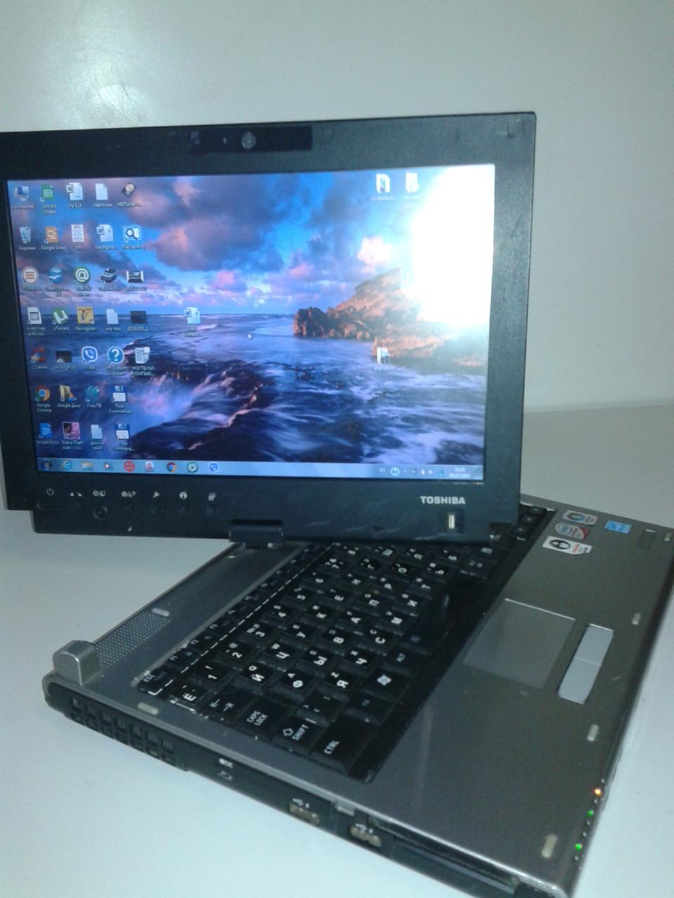Трансформер-ноутбук\планшет Toshiba m700 3G модем\вебкамера