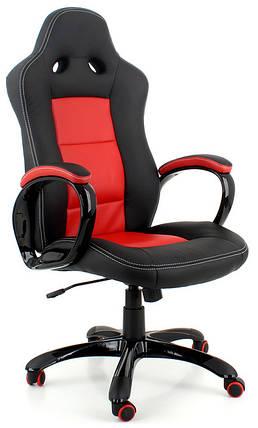 Офисное кожаное кресло EKO 289H черно-, фото 2