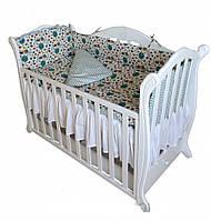 Постельные комплекты (в кроватку) Twins Comfort 4 елемента: бампер, наволочка, пододеяльник, простынь.