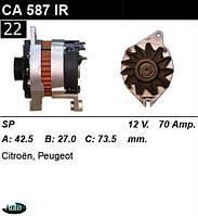Генератор Peugeot / Citroen 70Амр.CA587IR