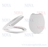 Туалетное сиденье с микролифтом Nova Smart 2070 (Турция)