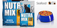 Nutra Mix SEAFOOD (Нутра Микс Сифуд) корм для взрослых кошек 22.68 кг