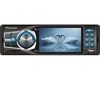 "Автомагнитола Pioneer 3612 Blue - 3,6"" TFT Video экран -Divx/mp4/mp3 USB+SD, фото 1"