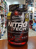 Купить протеин MuscleTech Nitro-Tech, 907 g