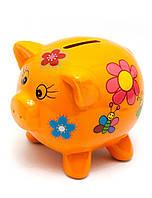 Копилка Свинка хрюшка для денег
