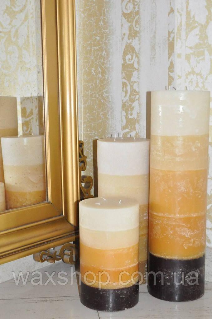 Напольные свечи, Большие свечи, каминные свечи