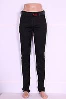 Женские джинсы большого размера черные Vanver (код8721)