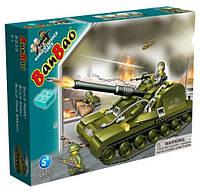 Конструктор BANBAO 8235 танк, 260 дет., фігурки 3 шт., кор., 37,5-28,5-6,5 см