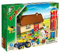 Конструктор BANBAO 8569 ферма, трактор інерц., 590 дет., фігурки 4 шт., кор., 45-35-7 см