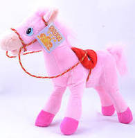 Мягкая игрушка Лошадка №97340,подарки для детей,пушистая,качественная, лучший подарок для малышей