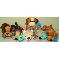 Плюшевая сумочка Зоопарк №1518-21,игрушка-рюкзак,детские подарки,товары для детей