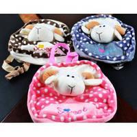 Мягкая игрушка-рюкзак ЗОО в форме животных №17116,игрушка-рюкзак,детские подарки,товары для детей