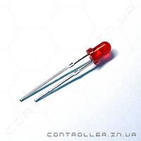 Светодиод красный 3мм