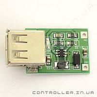 Повышающий DC-DC USB конвертер 0.9-5В в 5В 600мА