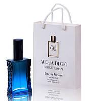 Мини парфюм мужской Giorgio Armani Acqua di Gio pour homme в подарочной упаковке 50 ml