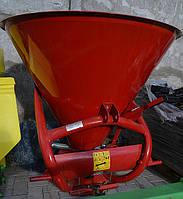 Розкидач міндобрив металевий 300 - 500 кг