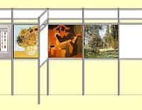 Оборудованне для картинных и художественных галерей