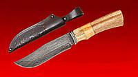 Нож охотничий  БЕРКУТ (дамаск) для охоты из домаской стали,охотничьи ножи,товары для рыбалки и охоты,оригинал
