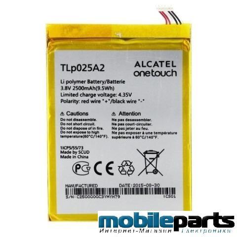 Оригинальный аккумулятор АКБ (Батарея) для ALCATEL ONE TOUCH 8008D SCRIBE HD D TLP025A2 2500 mAh