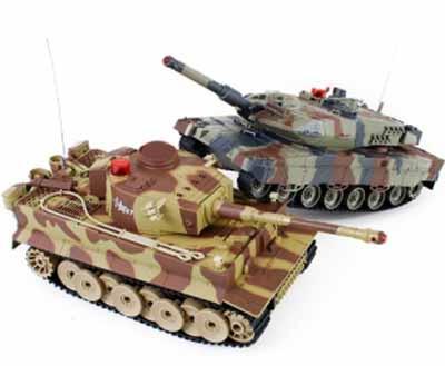 Танковый бой G-maxtec на радиоуправлении