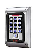 Клавиатура доступа S 100 металлическая с контроллером карточек