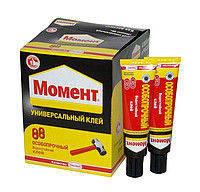 Клей особопрочный туба Момент 88 особопрочный 30 мл, в шоу боксе (украинская упаковка), 30 мл