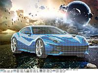 Схема для бісеру машини, Автостопом по Галактиці