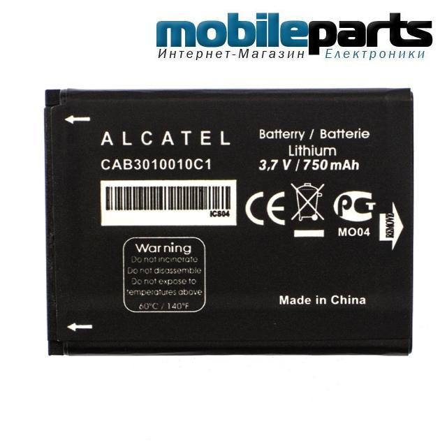 Оригинальный аккумулятор АКБ (Батарея) для ALCATEL One Touch MINI OT-708 CAB3010010C1 750mAh