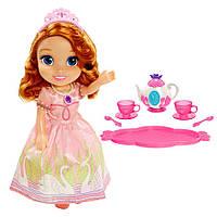 Кукла принцессы Софии с набором для чаепития, 32 см