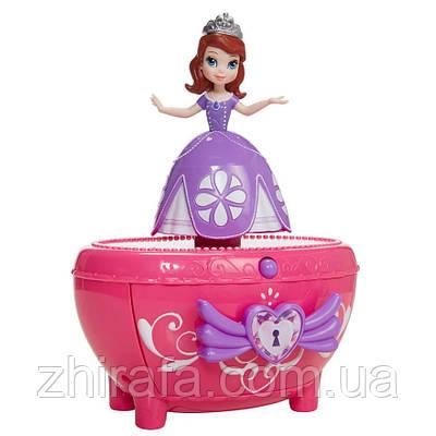 Музыкальная шкатулка для украшений принцессы Софии