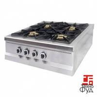 Плита промышленная с газовым контроллером М015-4N Pimak