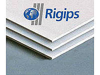 Гипсокартон влагостойкий Rigips 12,5х1200х3000