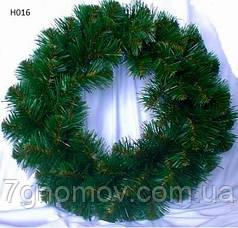 Венок с елки  «Хвоя  7″ диаметр 50 см