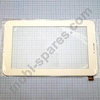 Сенсор планшета 7'' ViewPad 7Q (c189120a1-fpc700dr-02, FT5206) белый