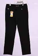 Утепленные узкие женские брюки больших размеров (код 601)