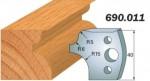 Комплекты фигурных ножей CMT серии 690/691 #011